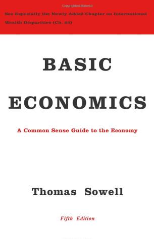 Thomas Sowell Economics