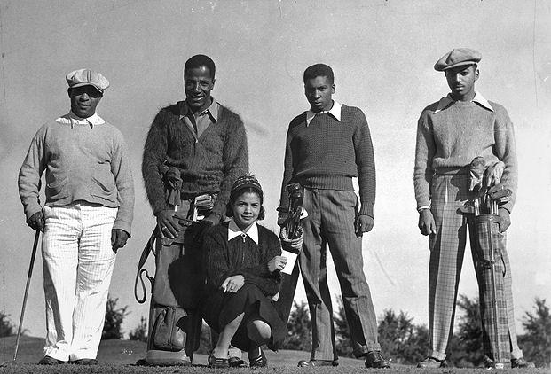 black_golfers_history_1938_Jimmy_Slemmons_Rosella_Ellis_minneapolis